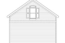 Country Exterior - Rear Elevation Plan #932-222