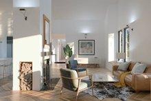 Modern Interior - Family Room Plan #1076-1