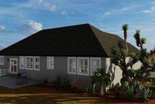 House Plan Design - Traditional Exterior - Rear Elevation Plan #1060-67