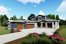 Architectural House Design - Modern Exterior - Front Elevation Plan #1069-9