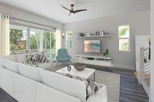 Beach Interior - Family Room Plan #938-108