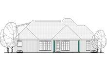 House Plan Design - European Exterior - Rear Elevation Plan #430-119