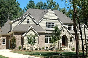 European Exterior - Front Elevation Plan #413-118