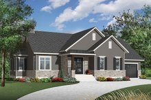 Dream House Plan - Country Exterior - Front Elevation Plan #23-2570