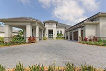 Contemporary Exterior - Front Elevation Plan #930-509