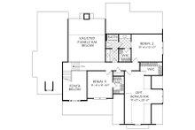 Cottage Floor Plan - Upper Floor Plan Plan #927-14