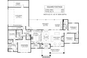 Farmhouse Style House Plan - 3 Beds 2.5 Baths 1967 Sq/Ft Plan #1074-7