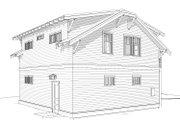 Craftsman Style House Plan - 2 Beds 1 Baths 780 Sq/Ft Plan #895-121