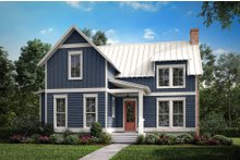 Home Plan - Farmhouse Exterior - Front Elevation Plan #430-177