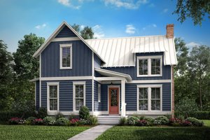 House Design - Farmhouse Exterior - Front Elevation Plan #430-177