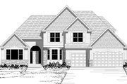 Traditional Style House Plan - 3 Beds 2.5 Baths 3018 Sq/Ft Plan #51-506 Exterior - Other Elevation