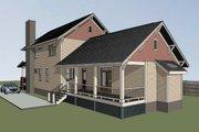 Craftsman Style House Plan - 4 Beds 3.5 Baths 2163 Sq/Ft Plan #79-274
