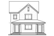Dream House Plan - Farmhouse Exterior - Rear Elevation Plan #23-741