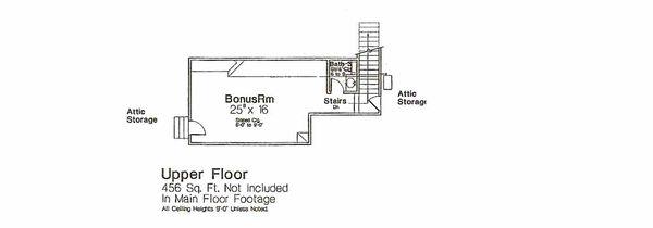 Dream House Plan - European Floor Plan - Other Floor Plan #310-968
