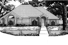 House Plan Design - Traditional Exterior - Front Elevation Plan #62-106