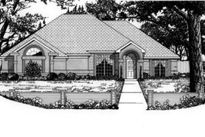 Home Plan Design - Traditional Exterior - Front Elevation Plan #62-106