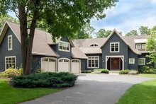 House Plan Design - Traditional Exterior - Front Elevation Plan #901-137