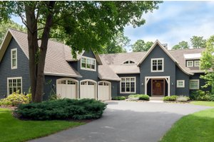 Dream House Plan - Traditional Exterior - Front Elevation Plan #901-137