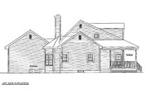 Home Plan - Country Exterior - Other Elevation Plan #3-183