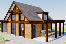 Home Plan - Modern Exterior - Other Elevation Plan #542-8