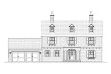 Colonial Exterior - Front Elevation Plan #901-86