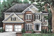 Colonial Style House Plan - 5 Beds 3 Baths 2361 Sq/Ft Plan #927-21