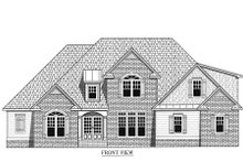 Dream House Plan - Traditional Exterior - Other Elevation Plan #437-37