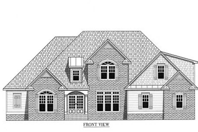 Traditional Exterior - Other Elevation Plan #437-37 - Houseplans.com