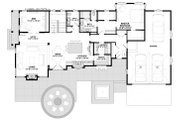 Contemporary Style House Plan - 3 Beds 2.5 Baths 3557 Sq/Ft Plan #928-311 Floor Plan - Main Floor