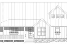 House Design - Country Exterior - Front Elevation Plan #932-348