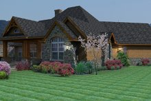 Craftsman Exterior - Other Elevation Plan #120-162
