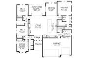 Ranch Style House Plan - 4 Beds 3 Baths 2374 Sq/Ft Plan #48-927 Floor Plan - Main Floor Plan