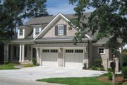 Craftsman Style House Plan - 4 Beds 4.5 Baths 3571 Sq/Ft Plan #1054-38 Exterior - Front Elevation