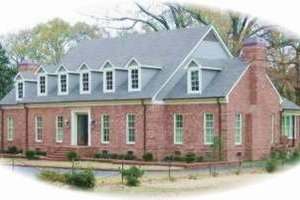 Colonial Exterior - Front Elevation Plan #81-1359