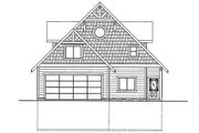 Country Style House Plan - 3 Beds 3 Baths 3618 Sq/Ft Plan #117-808 Exterior - Rear Elevation