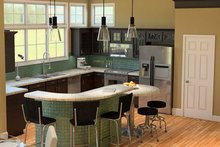 Dream House Plan - Traditional Interior - Kitchen Plan #57-613