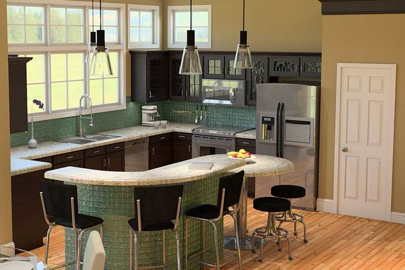 Traditional Interior - Kitchen Plan #57-613 - Houseplans.com