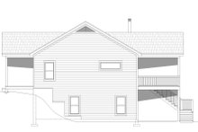 Dream House Plan - Cabin Exterior - Other Elevation Plan #932-57