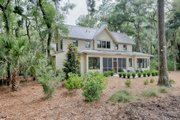 Country Style House Plan - 3 Beds 3.5 Baths 3043 Sq/Ft Plan #928-13 Exterior - Rear Elevation
