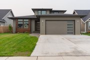 Contemporary Style House Plan - 3 Beds 2.5 Baths 2034 Sq/Ft Plan #1070-111 Photo