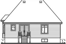 Exterior - Rear Elevation Plan #23-690