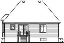 Exterior - Rear Elevation Plan #23-690