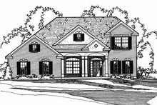 Traditional Exterior - Front Elevation Plan #31-125