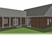 Ranch Style House Plan - 3 Beds 2 Baths 1716 Sq/Ft Plan #44-101 Exterior - Other Elevation