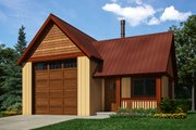 Traditional Style House Plan - 0 Beds 0 Baths 628 Sq/Ft Plan #118-174