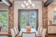European Style House Plan - 3 Beds 2 Baths 2487 Sq/Ft Plan #430-154 Interior - Dining Room