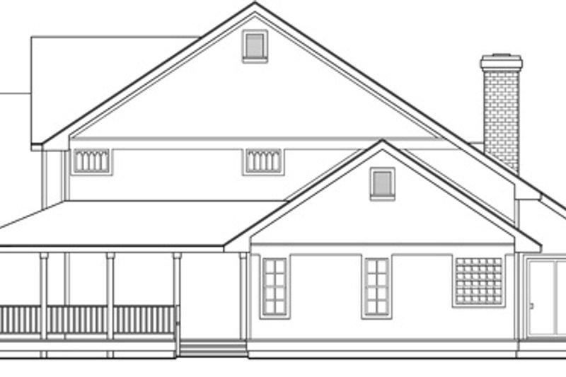 Farmhouse Exterior - Other Elevation Plan #124-193 - Houseplans.com