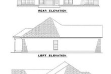 Architectural House Design - Traditional Exterior - Rear Elevation Plan #17-1143