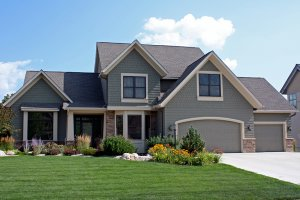 Craftsman Exterior - Front Elevation Plan #51-419