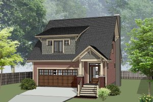 House Design - Bungalow Exterior - Front Elevation Plan #79-275